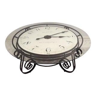 Howard Miller Ravenna Cocktail Table Clock For Sale