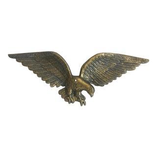 Eagle Wall Pediment For Sale