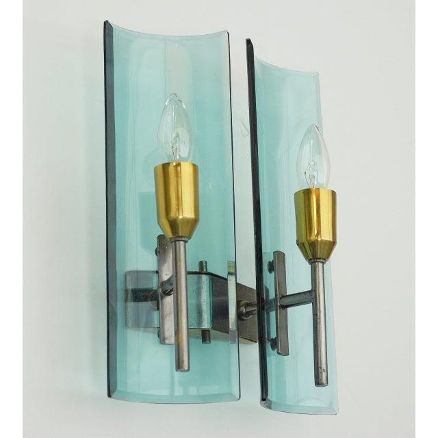 Cristal Arte Cristal Arte Beveled Sconce For Sale - Image 4 of 11