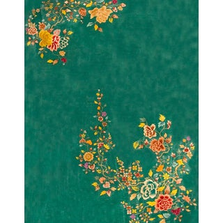 1920s Antique Chinese Art Deco Rug-8′10″ × 11′3″ For Sale