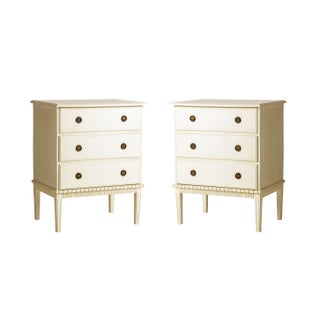 Swedish Style Chest of Drawers- a Pair