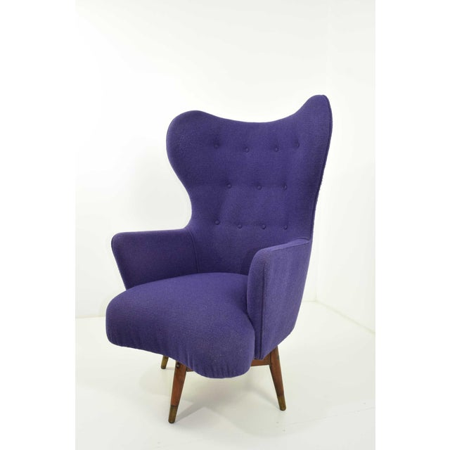 Wood Mid-Century Danish Lounge Chair For Sale - Image 7 of 9