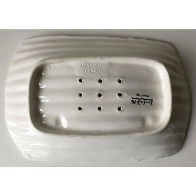 Italian Faience Asparagus Dish & Platter For Sale - Image 4 of 13