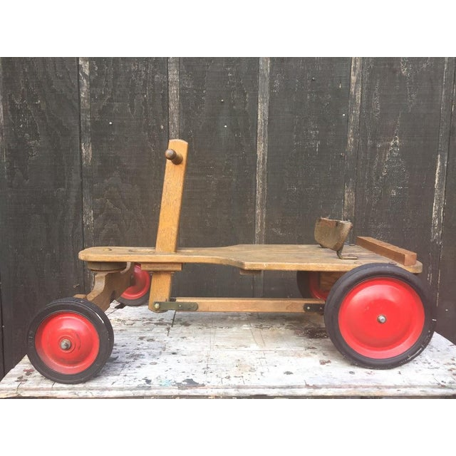 Irish mail cart/push car circa 1940s/50s, Made by Whitneyville Wagon Co. Alto, MI this push/pull car is solidly...