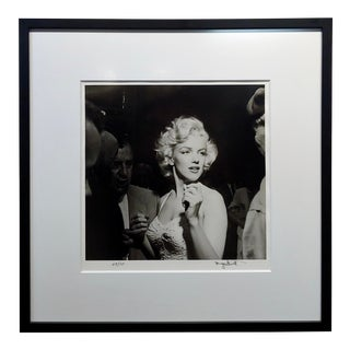 Marilyn Monroe 1953 Hollywood Silver Gelatin Photograph by Murray Garrett For Sale