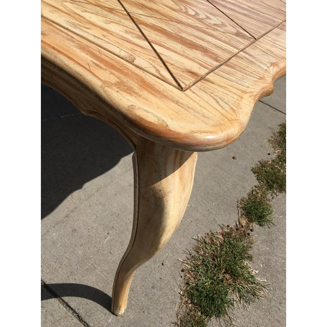 1950s French Country Style Long Dining Table For Sale - Image 6 of 13