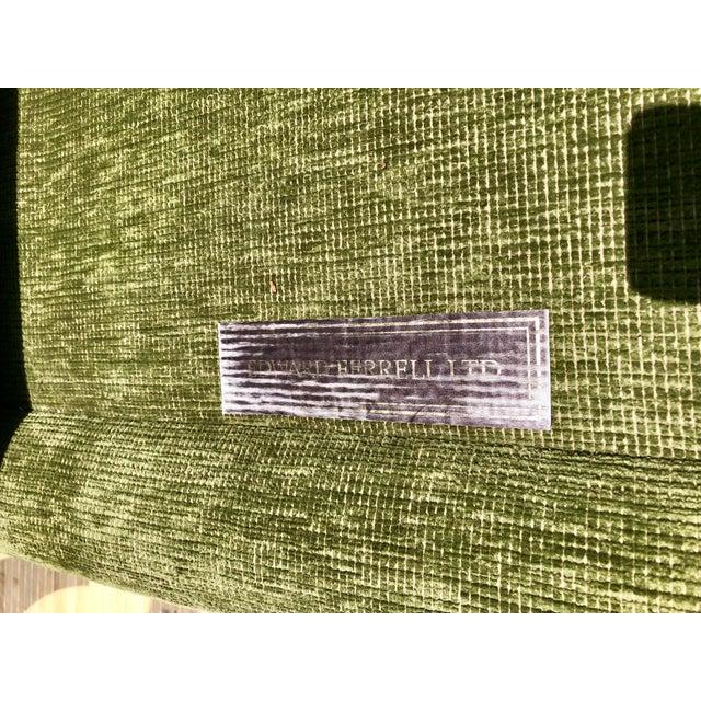 Green 1990s Vintage Edward Ferrell Green Fringe Sofa For Sale - Image 8 of 13