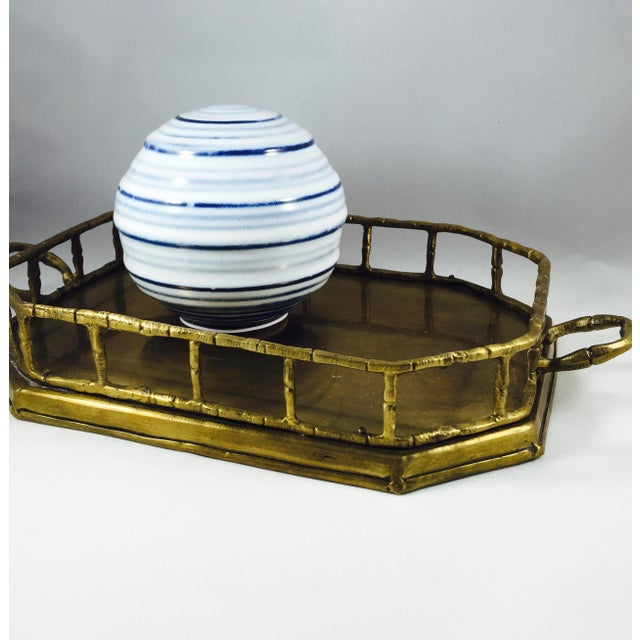Vintage Brass Handled Tray - Image 3 of 3