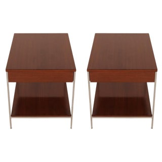 George Nelson for Herman Miller Single Drawer End Tables - a Pair For Sale