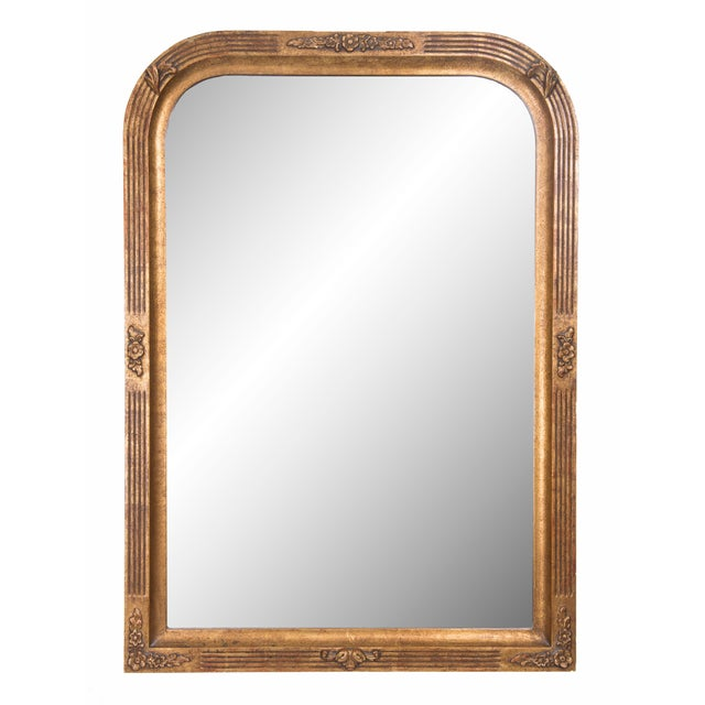 20th Century Italian Giltwood Mirror For Sale In West Palm - Image 6 of 6