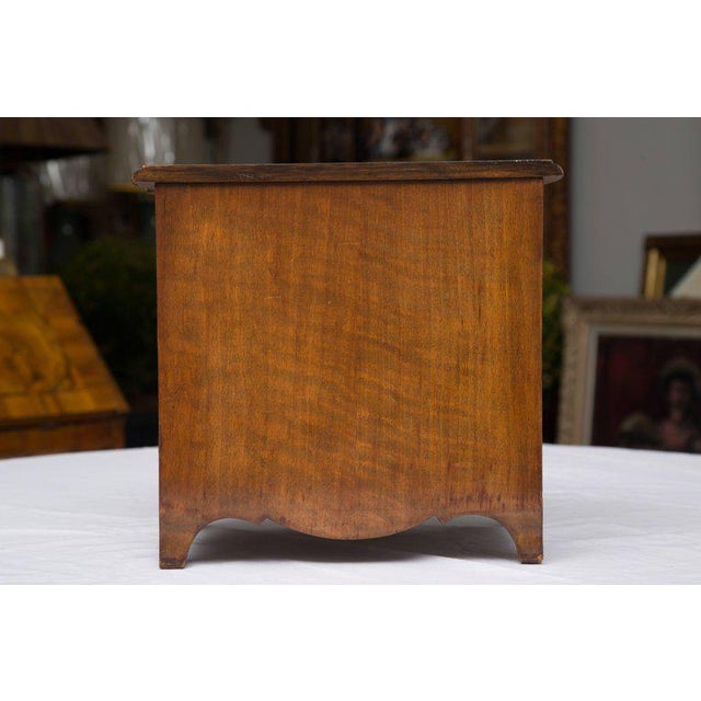 19th Century French Walnut Specimen Louis XV Style Commode For Sale In West Palm - Image 6 of 9