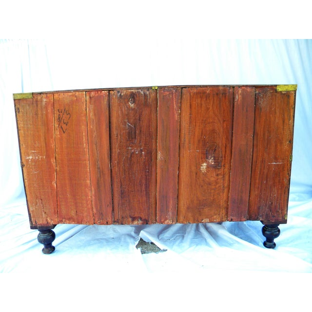 Antique Anglo-Indian Campaign Chest - Image 7 of 10
