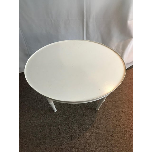 Maison Jansen Style White Wooden Side or Coffee Table - Image 2 of 6