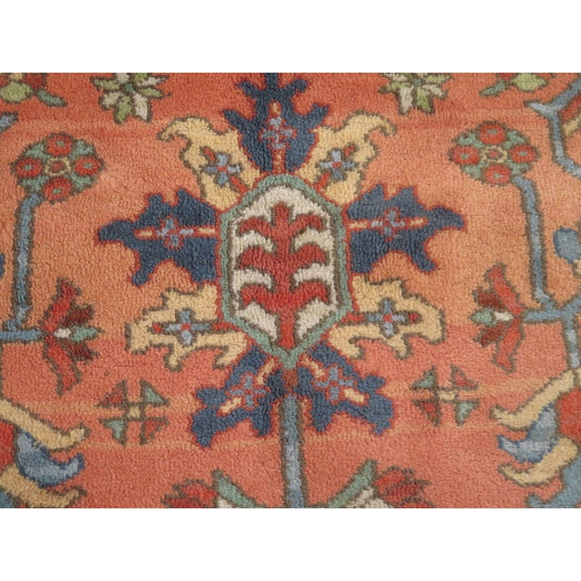 Textile 1980s Vintage Karastan Heriz Pattern Rug- 10′1″ × 15′ For Sale - Image 7 of 13