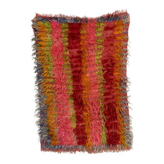 Christopher Farr Tulu Dyed Goat Chin Hair Rug - 3′5″ × 5′ For Sale