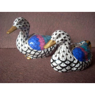 1970s Herend Duck Figurines- A Pair Preview