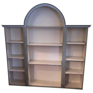 Shabby Chic Farmhouse Style Bookcase For Sale