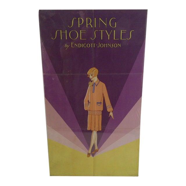 Vintage Endicott-Johnson Advertising Poster For Sale