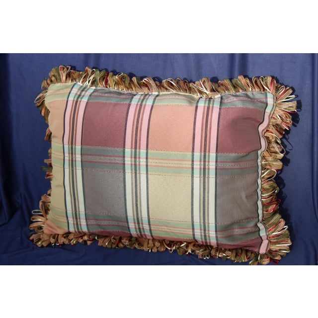 Fabric Mid C. Possible English Modern Pillow For Sale - Image 7 of 7