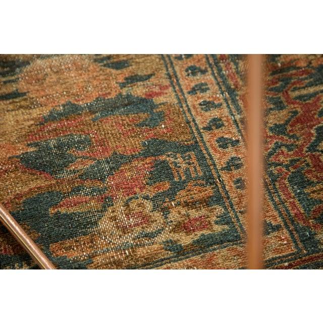 "Distressed Hamadan Carpet - 5'3"" x 7'11"" - Image 5 of 10"