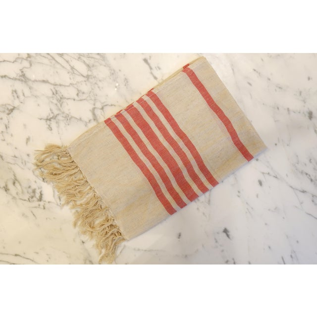 Turkish Hand Made Towel With Natural/Organic Cotton and Fast Drying,18x27 Inches Set of 2 For Sale - Image 4 of 4