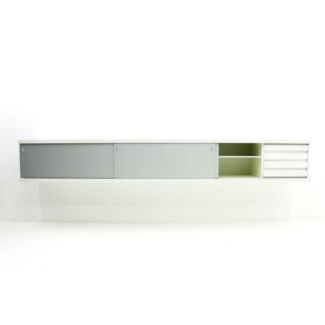 White Floating Sideboard by Horst Bruning, Behr, 1960s For Sale - Image 8 of 8