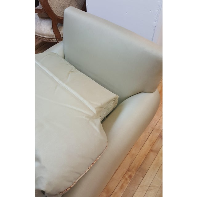 Hickory Chair Mint Green Club Chair For Sale In New York - Image 6 of 8