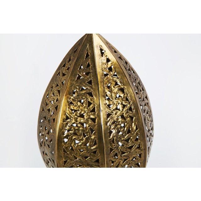Egg-Shape Copper Casablanca Lamp - Image 4 of 5