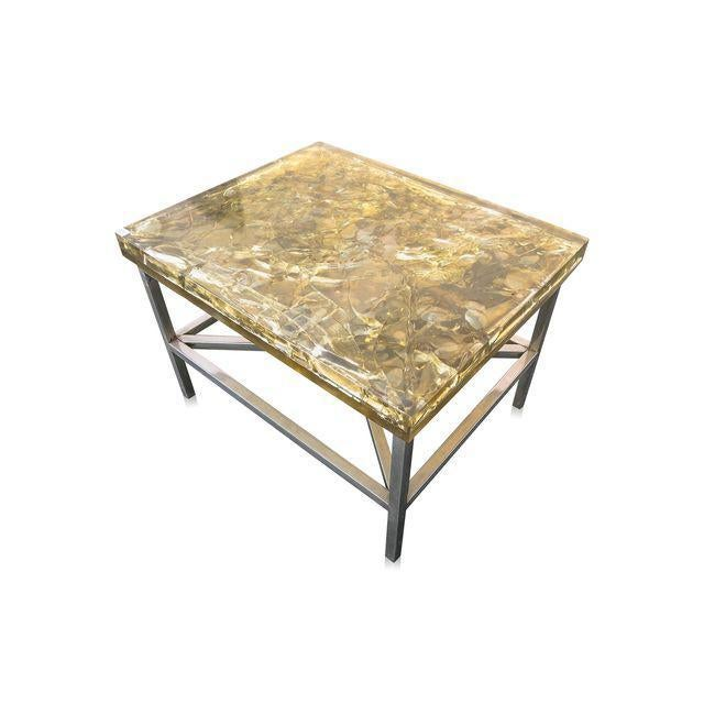 """""""Shattered Dreams"""" Coffee/Side Tables For Sale - Image 4 of 5"""