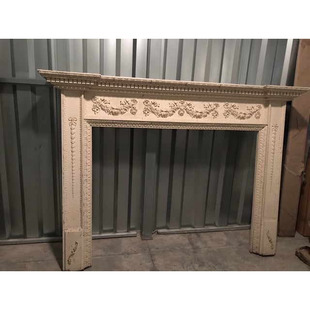 1920s 1920 English Adam Style Mantel For Sale - Image 5 of 5