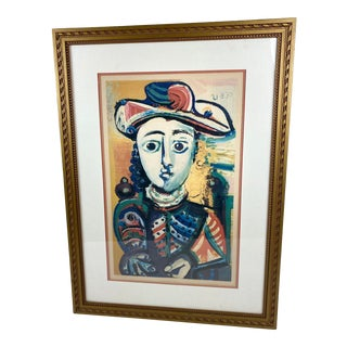Vintage Picasso Limited Edition Collectors Guild Lithograph For Sale