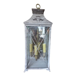 Contemporary Zinc French Lantern For Sale