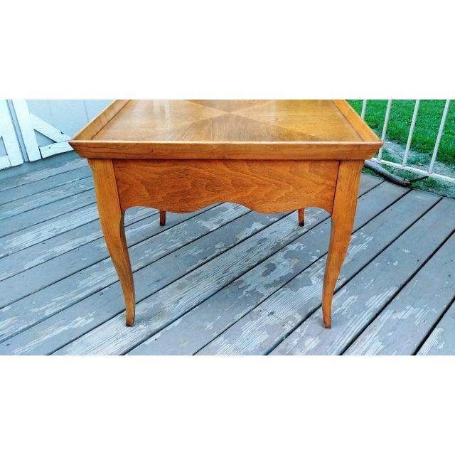 Baker Furniture Company 20th Century Regency Baker Furniture Milling Road One Drawer End Table For Sale - Image 4 of 13