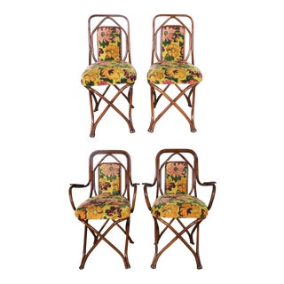 Antique Gebruder Thonet Bentwood Chairs - Set of 4 For Sale
