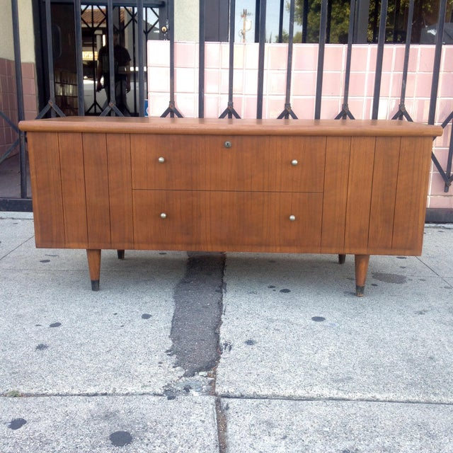 Lane Furniture Mid-Century Storage Chest Credenza - Image 4 of 11