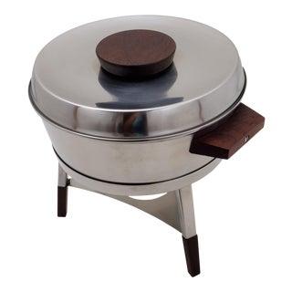 1960s Danish Modern Arne Jacobsen Chafing Dish