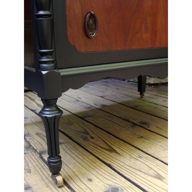 Brown National Furniture Company Heirloom Walnut Highboy Dresser For Sale - Image 8 of 11