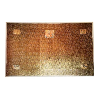 Mounted 19th C Japanese Monk's Kesa For Sale