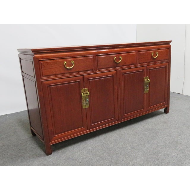 Chinese Rosewood Sideboard For Sale - Image 12 of 12