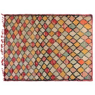 Pastel Color Moroccan Rug - 6′ × 7′10″ For Sale