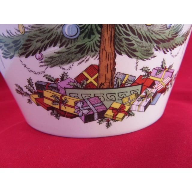Spode Christmas Tree Sale: Spode Christmas Tree Cookie Jar