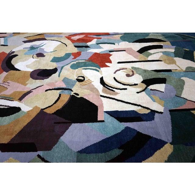 Boccara Artistic Rug – Albert Gleizes – Design N.39 For Sale - Image 6 of 9