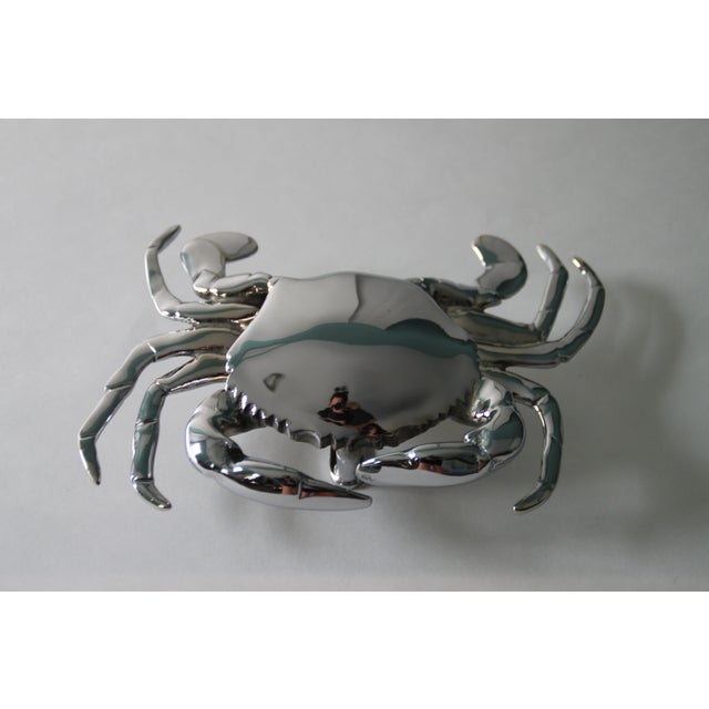Chrome Crab Door Knocker - Image 2 of 4