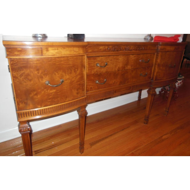 1930's Myrtlewood Buffet (2 of 3) For Sale - Image 4 of 11