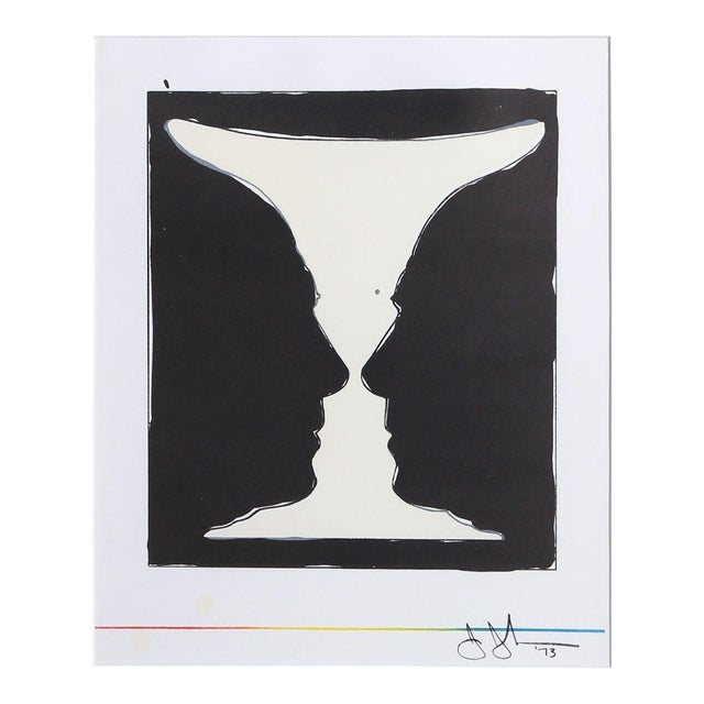 Jasper Johns Cup 2 Picasso Lithograph For Sale