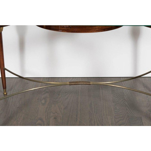 Italian Mid-Century Modern Italian Cocktail Table in the Style of Gio Ponti, circa 1945 For Sale - Image 3 of 11