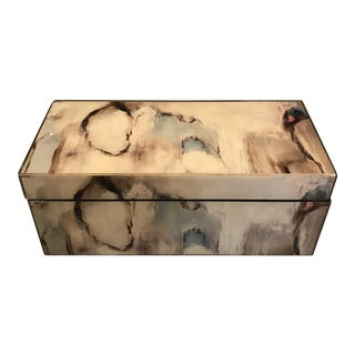 Lacquered Abstract Box