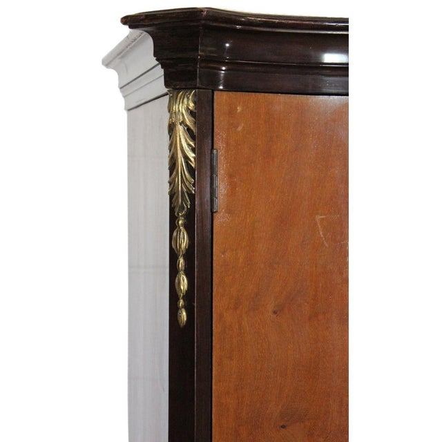 Louis XV Bronze Banded Armoire For Sale - Image 5 of 10