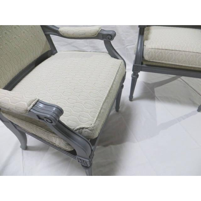 French Directoire Side Chairs - A Pair For Sale - Image 10 of 11