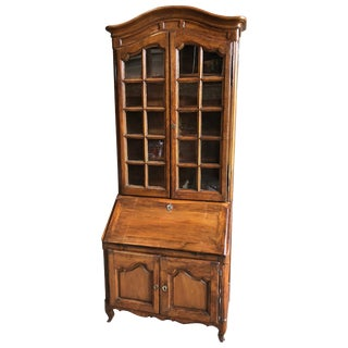 French Louis XV Secretaire Bookcase, 1760 For Sale